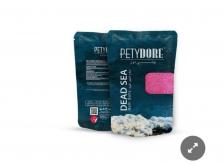 Petydore Dead Sea Bath Salt 250g Rose - Pack Of 2