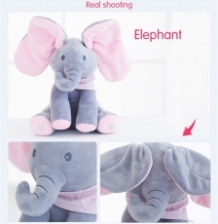 ELEPHANT MUSICAL PLAYDOLL