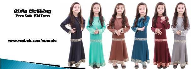 Pessa Satin Kid Dress