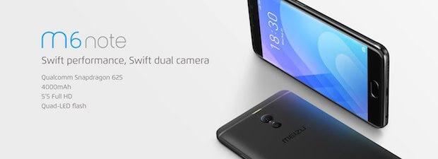 "Meizu M6 Note Black [5.5"", 3GB RAM + 32GB ROM]"