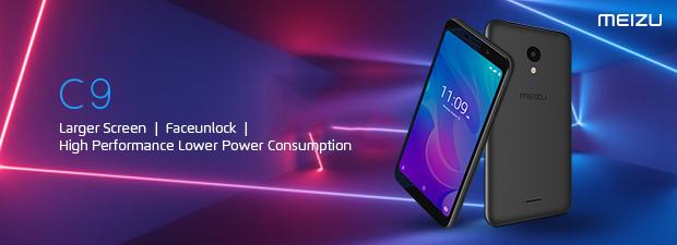 Meizu C9 Black [5.45, 2GB RAM + 16GB ROM]
